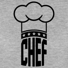 Logo-di-chef-stelle-cappello-dello-chef-Magliette